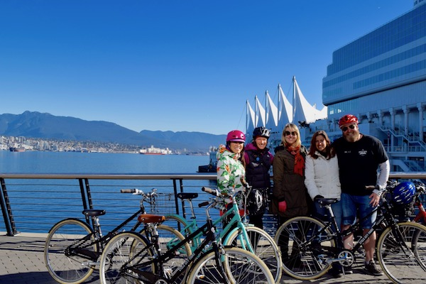 Vancouver brewery bike tour summer 2017