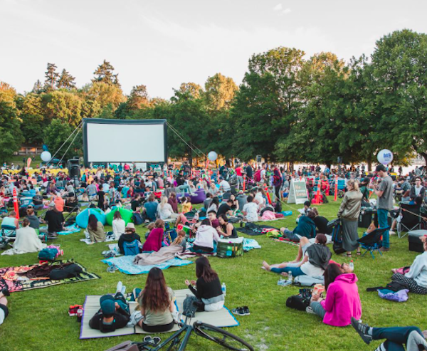 experience vancouver group cinema series stanley park evo summer 2017