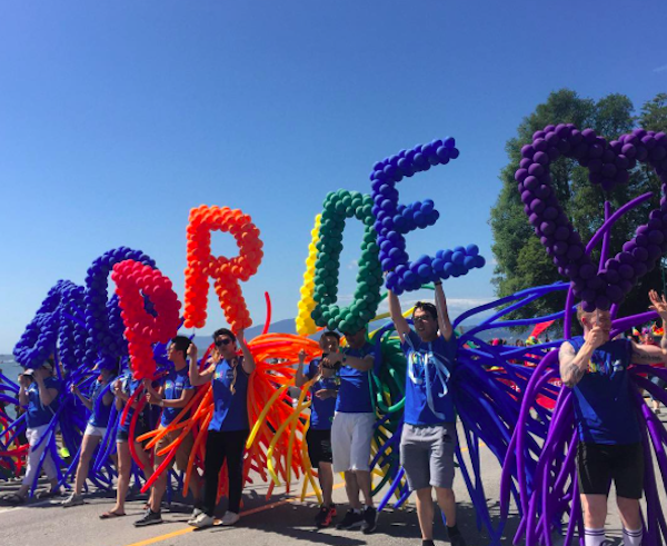 experience vancouver pride parade summer 2017