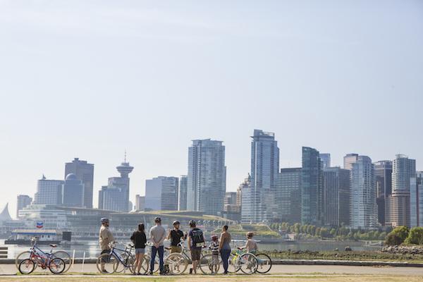 Vancouver City Biking Tour
