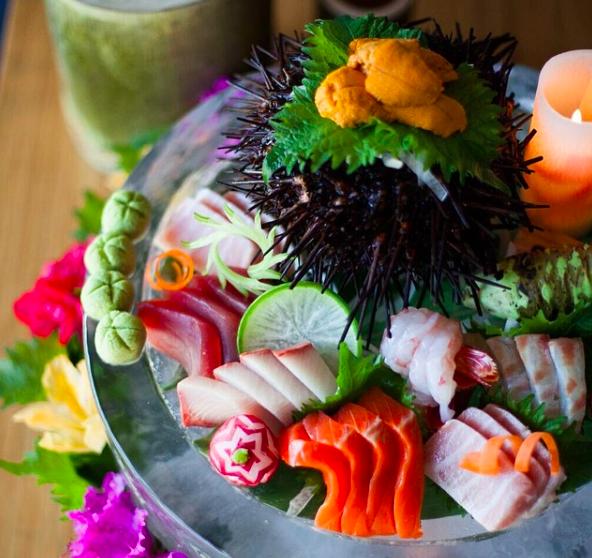 Gourmet Tojo's Omakase in Vancouver